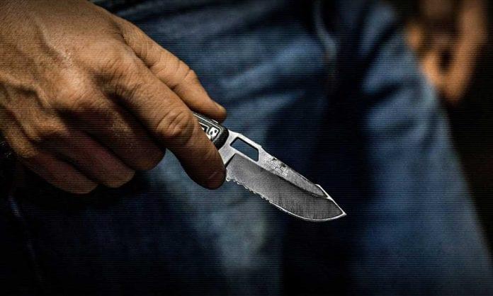 метание ножа техника