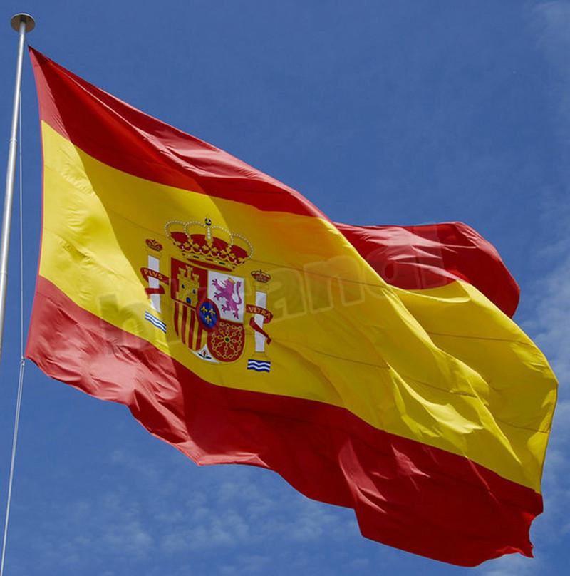 зелено красный флаг с гербом