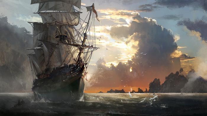 пиратские корабли фото
