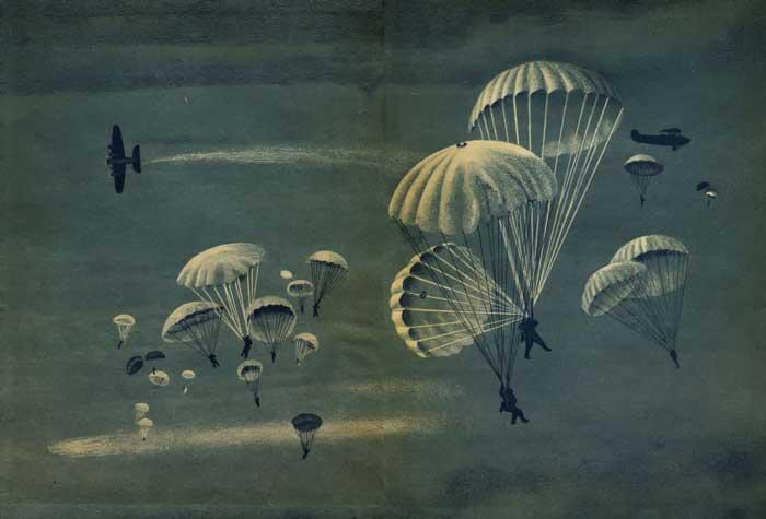 виды парашютов