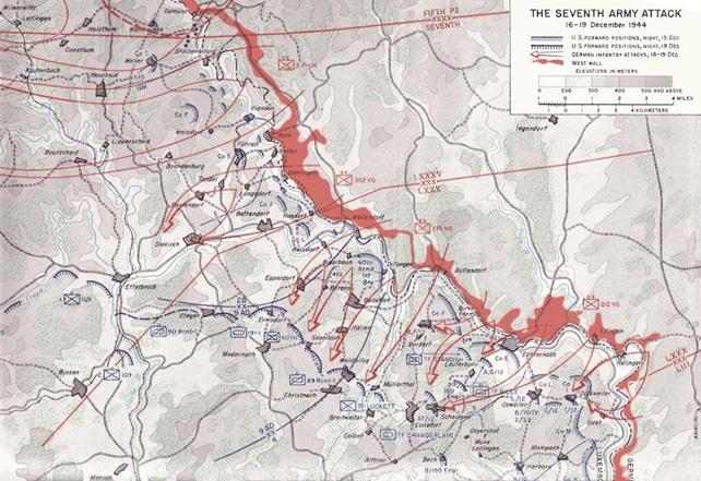 наступление в арденнах 1944