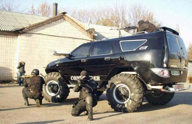 военные автомобили россии