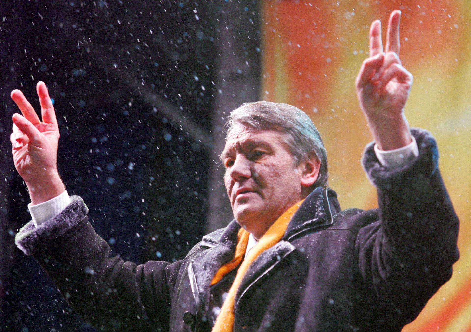 почему оранжевая революция так называется