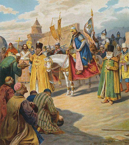 завоевание казанского ханства иваном грозным