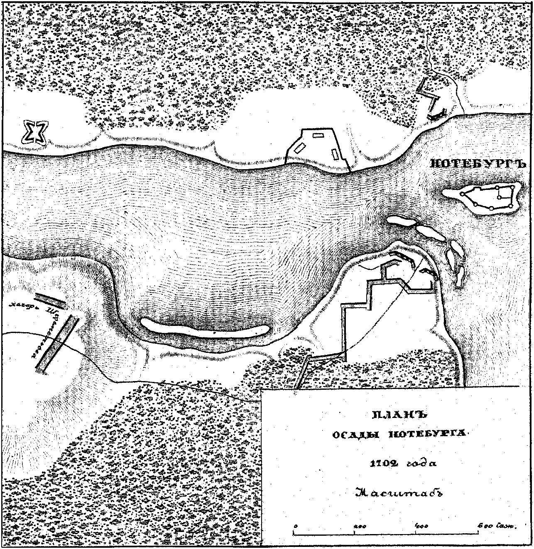 штурм крепости нотебург