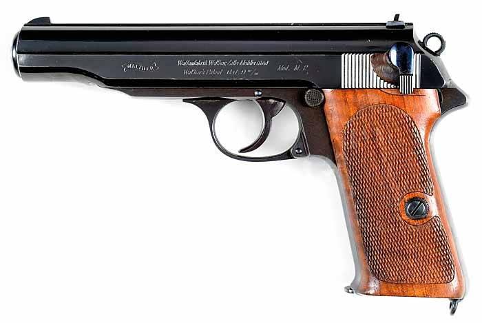 пистолет вальтер ппк