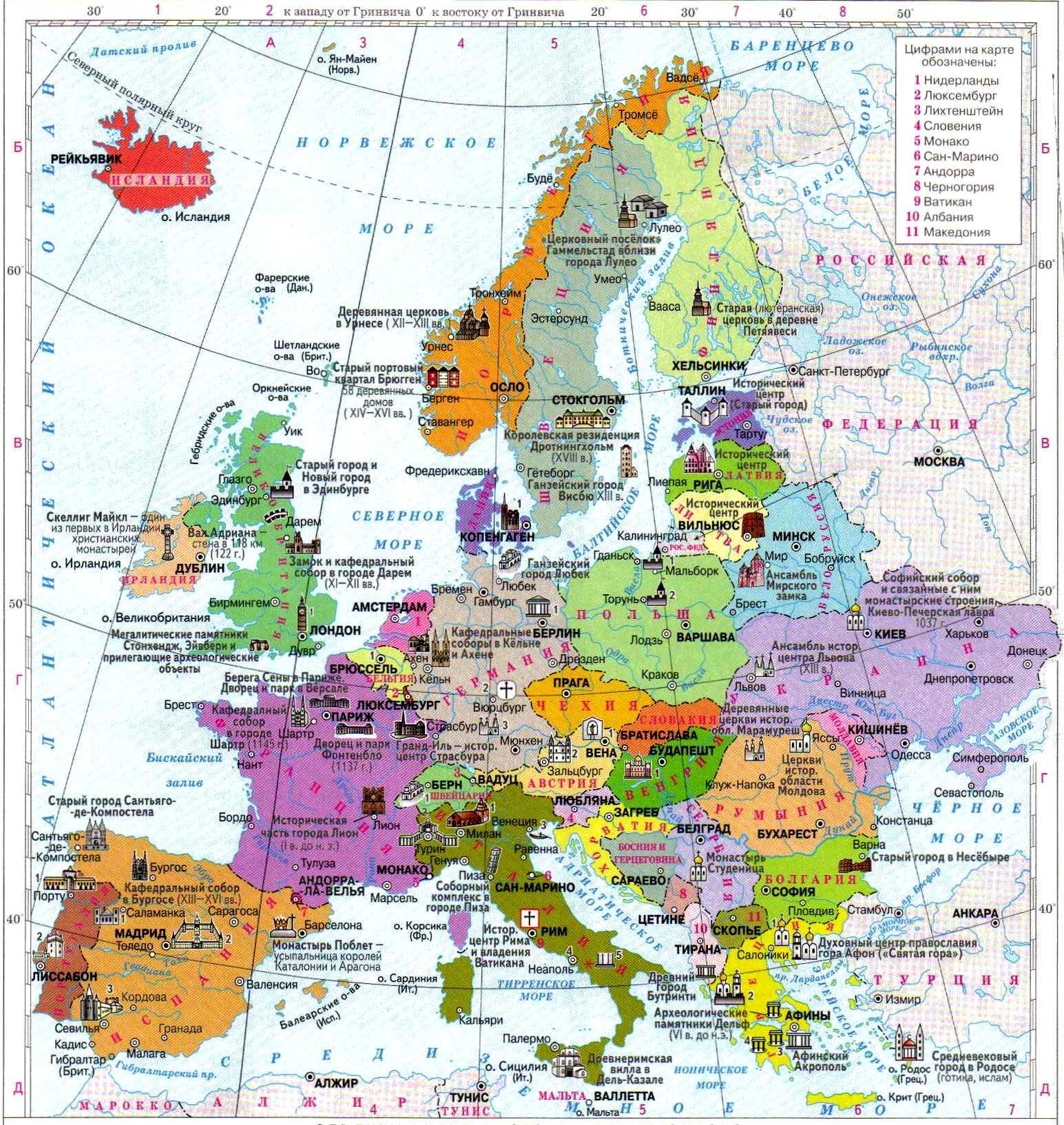 россия часть европы