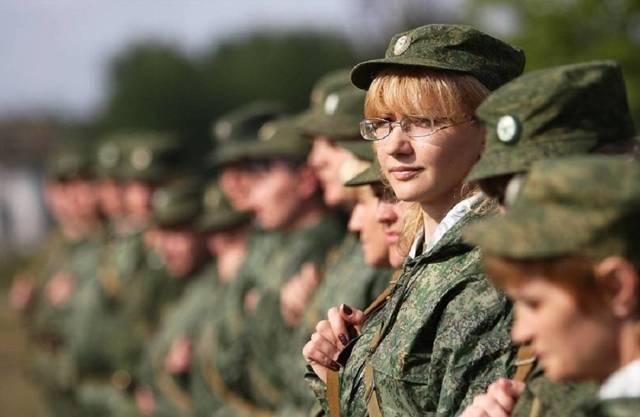 женская армия в россии