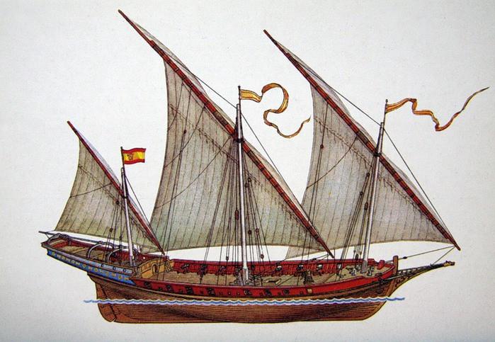 античное судно
