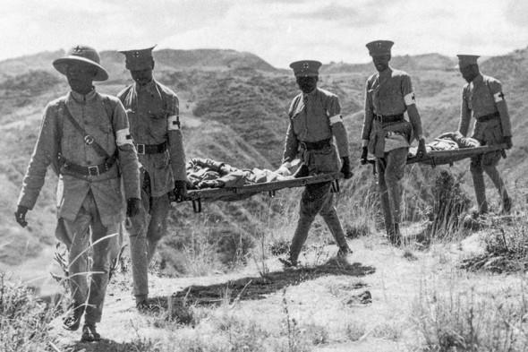 химическое оружие в первой мировой войне