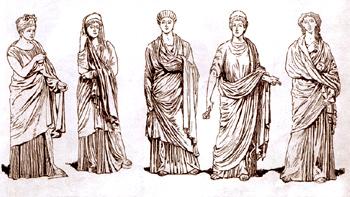 одежда древнего рима