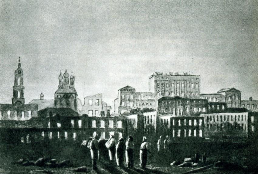наполеон в москве 1812 года