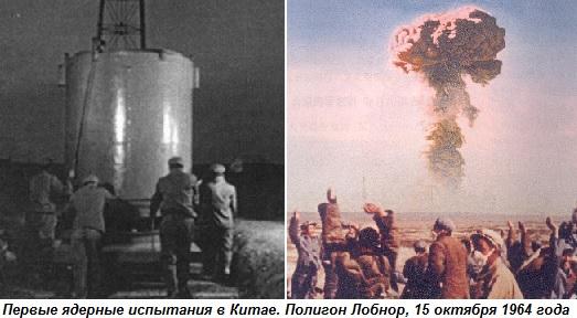 история возникновения ядерного оружия