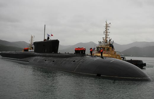 ясень подводная лодка
