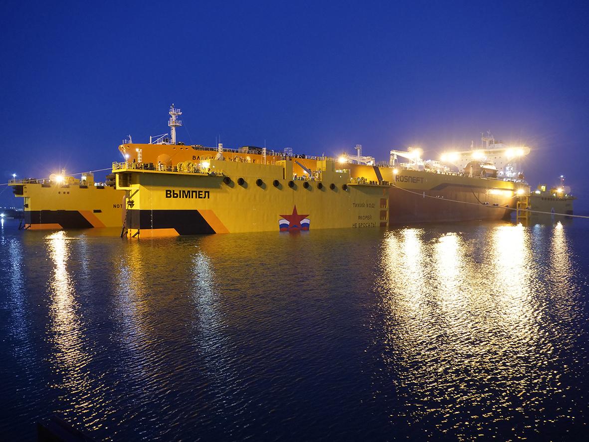 самое большое судно в мире