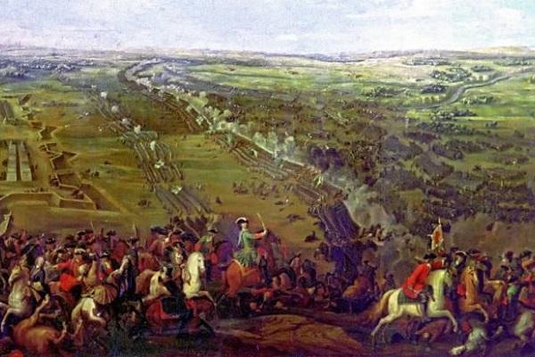 какое событие произошло в 1709 году
