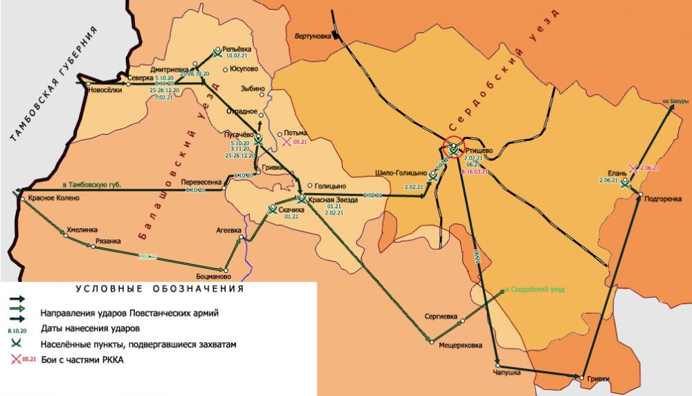 восстание в тамбовской губернии 1920 1921