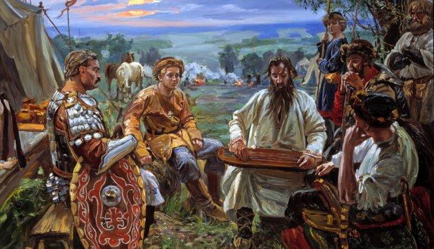 мужской и женский костюм эпохи неолита