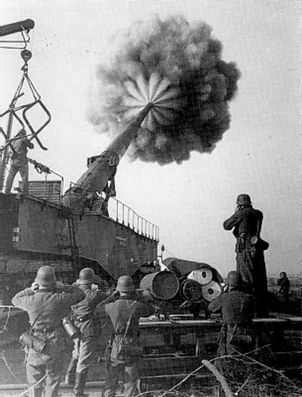немецкая пушка густав
