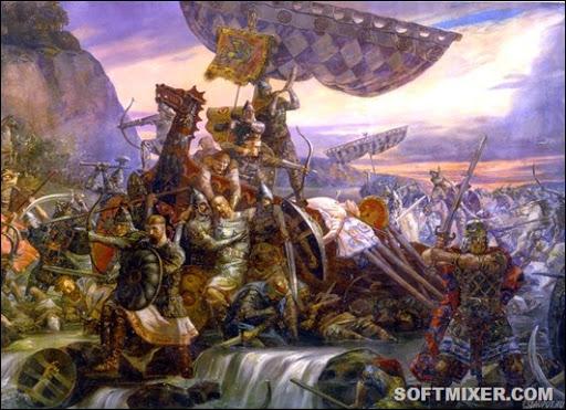 смерть князя святослава