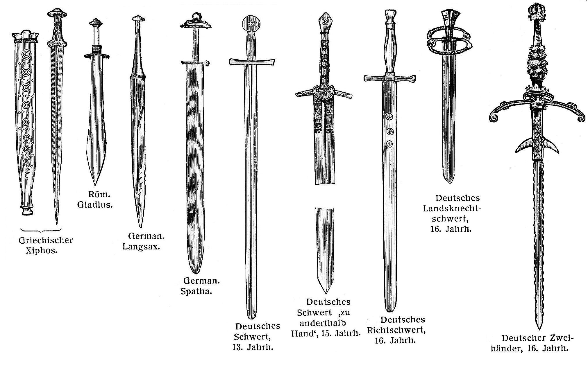 тесак меч