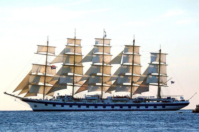 самые большие в мире корабли
