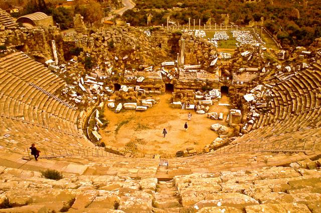 города древнего рима