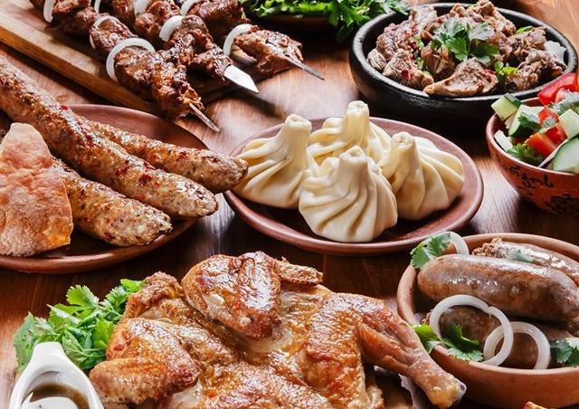 кавказские блюда из мяса