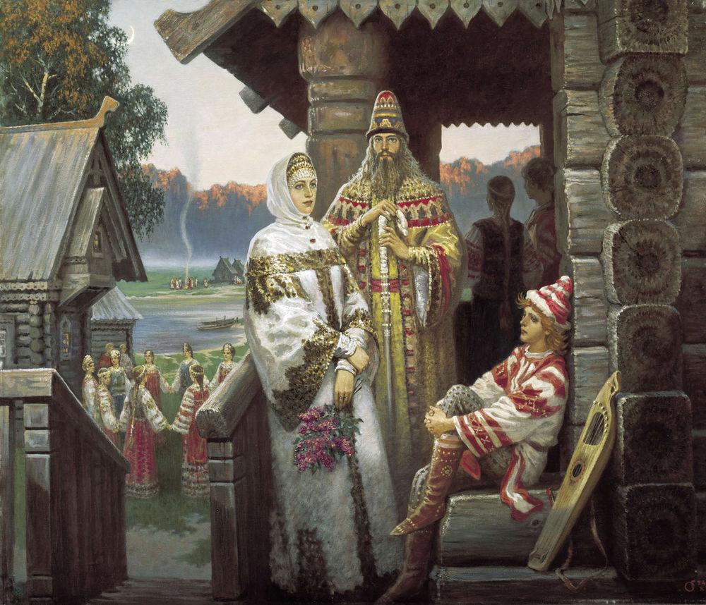 костюмы древней руси
