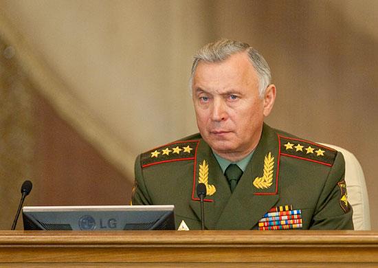 генералы армии россии список действующих