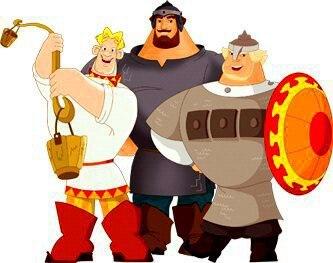 3 русских богатыря