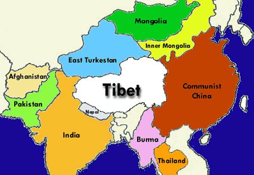 население тибета