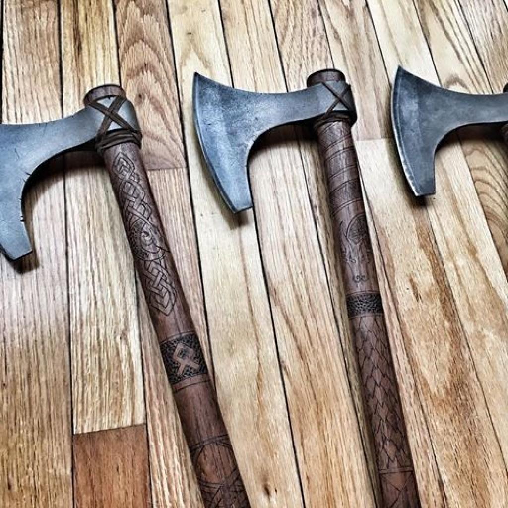 боевые топоры викингов