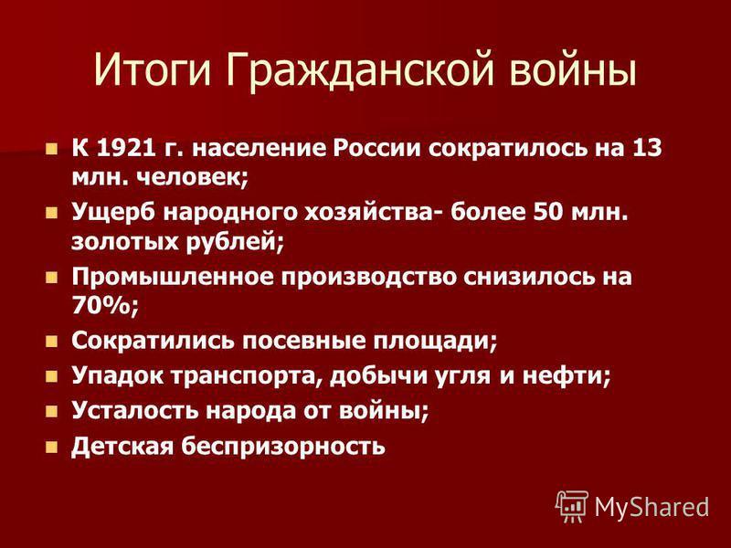 1918 год события