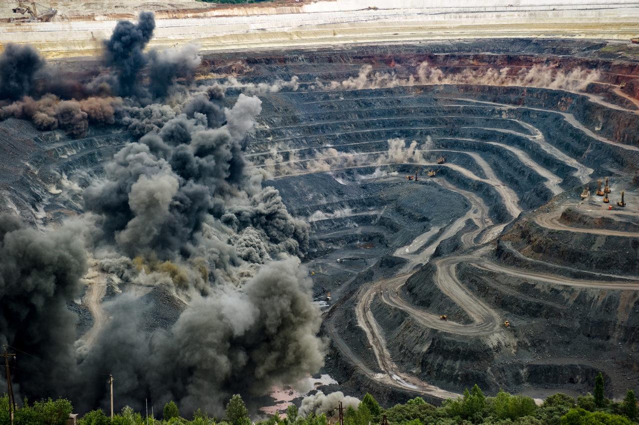 как добывают железную руду