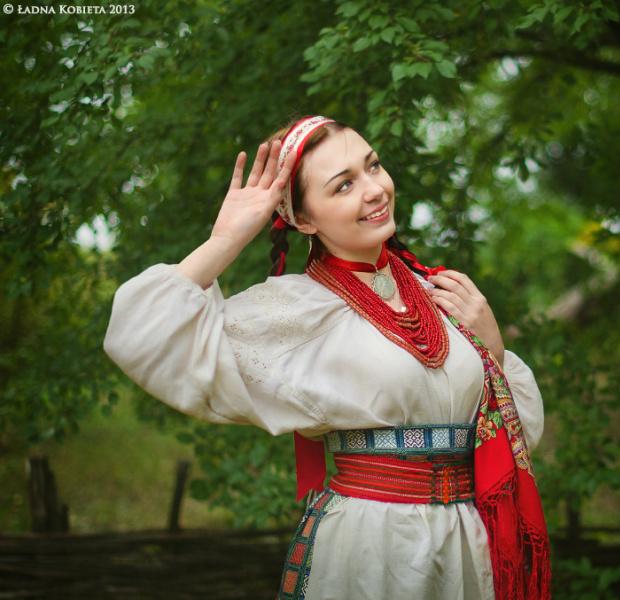 украинская народная одежда