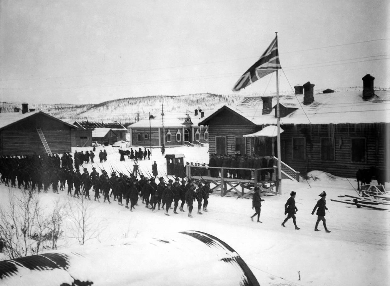 иностранная интервенция в годы гражданской войны