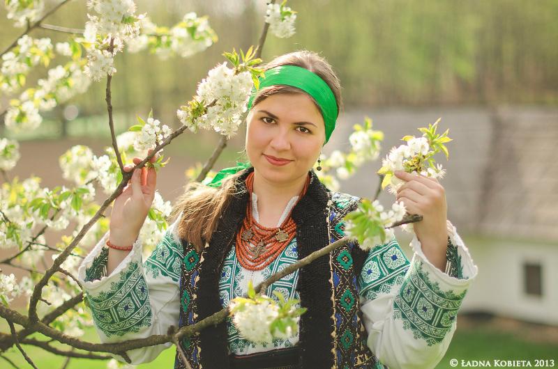 национальный костюм украины рисунок