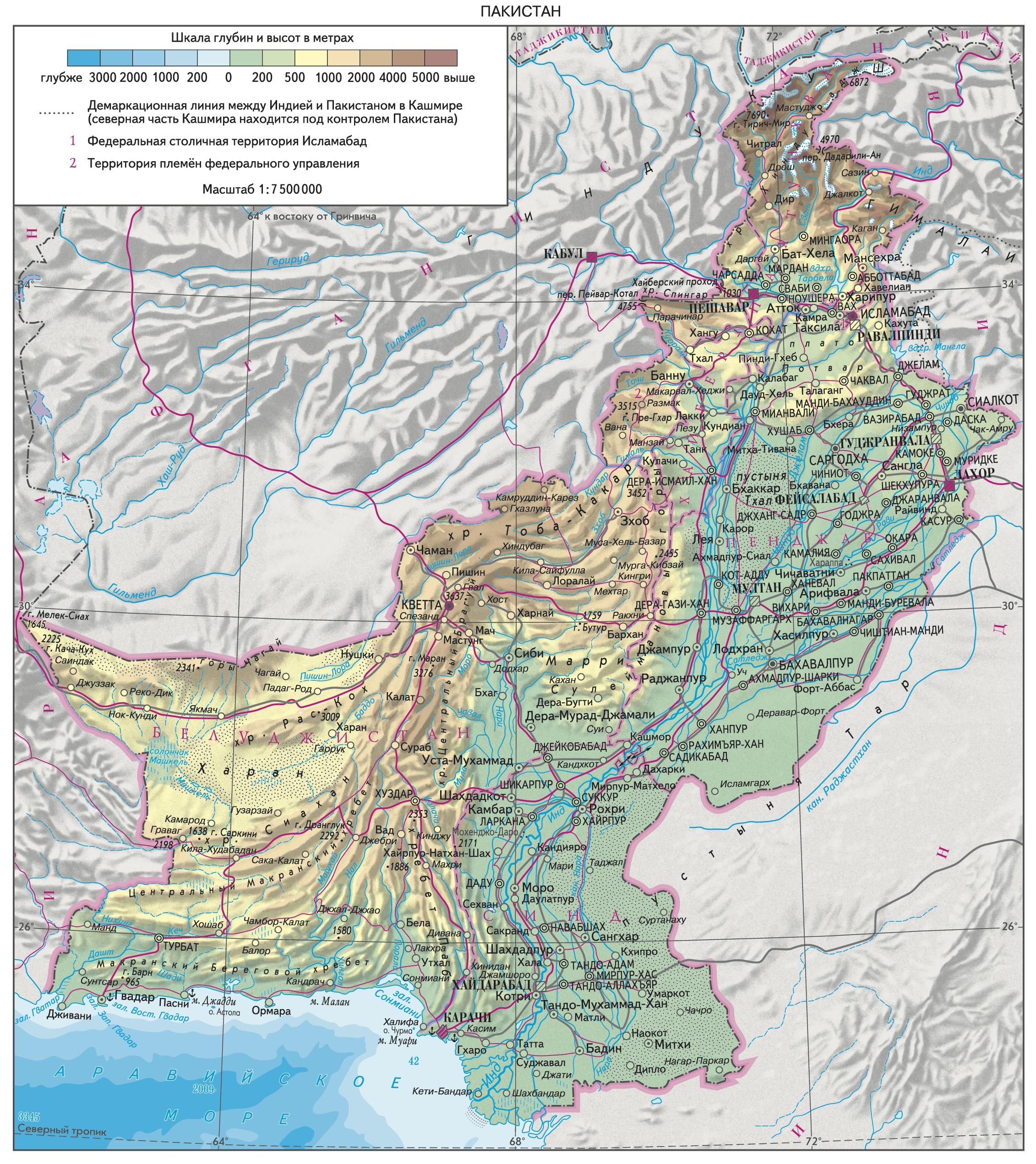 язык пакистанцев