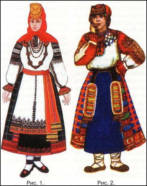 славянские наряды