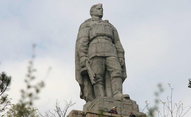 воин освободитель в берлине
