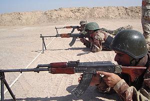 пулемет калашникова танковый
