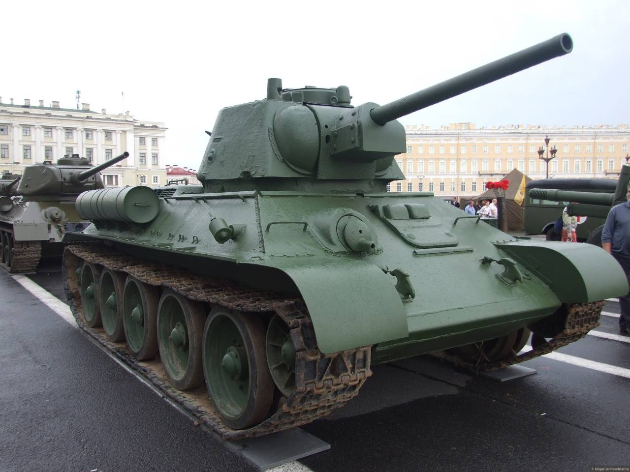 танк т34 фото