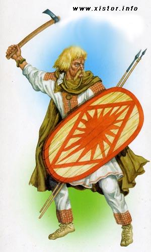 оружие славян