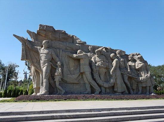 статуя мамаев курган