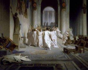 как был убит цезарь