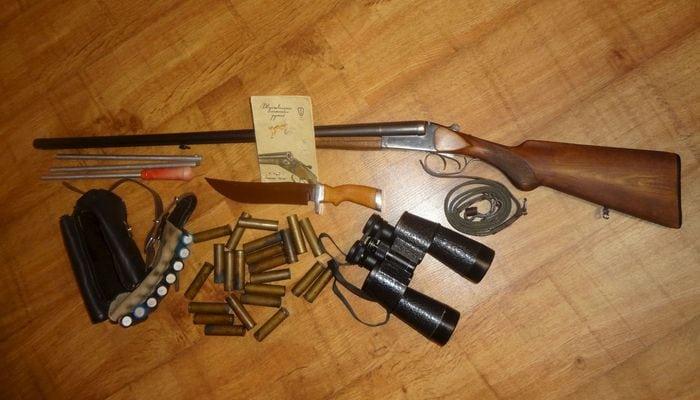 гладкоствольное ружье 16 калибра