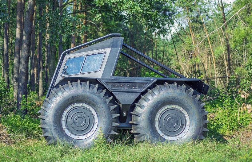 устройство вездехода шерп и его трансмиссия