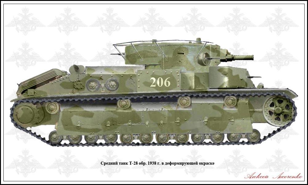 танк т 28 фото