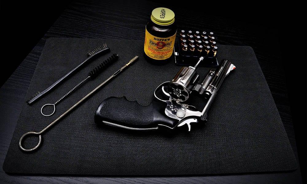 чистка ружья